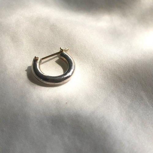 hirondelle et pepin(イロンデールエペパン) / silver sp-19fw-21 シルバークロッシング ピアス1 (片方タイプ)