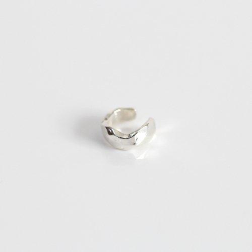 MIKU FUKAMITSU(ミク フカミツ) / 風化 (岩のイヤーカフ)  / (シルバー  / silver925) (片方タイプ)