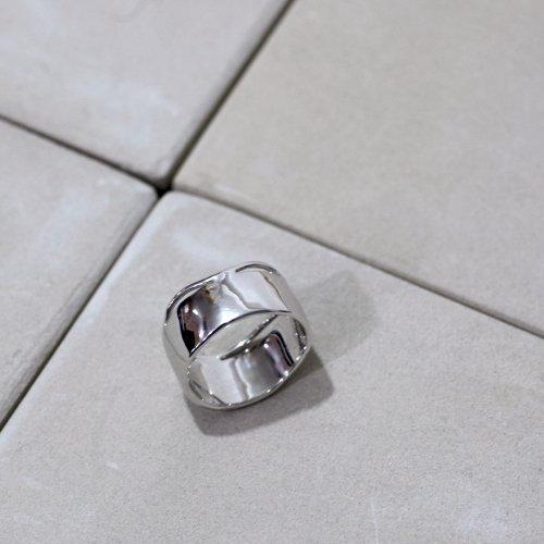 MIKU FUKAMITSU(ミク フカミツ) / 風波のリング03(畝り)  / (シルバー  / silver925)