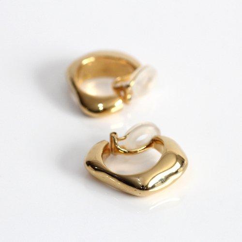 MIKU FUKAMITSU(ミク フカミツ) / 水溜まりの耳飾り / イヤリング / (ゴールド / silver925 / K18pt) (ペア)