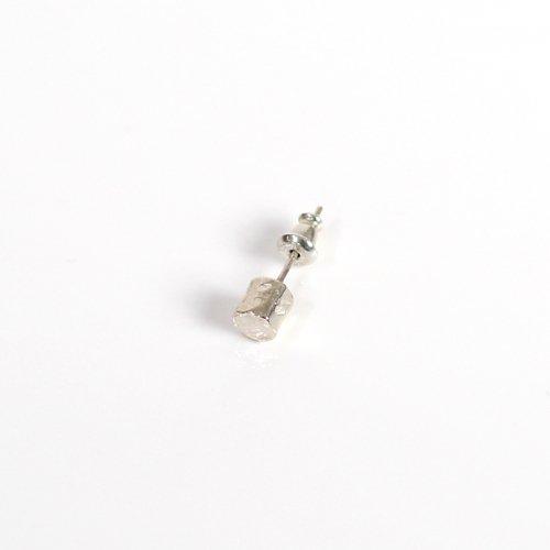 UNKNOWN. / silver925 U336  CYLINDER  ピアス - シルバー (片耳タイプ)