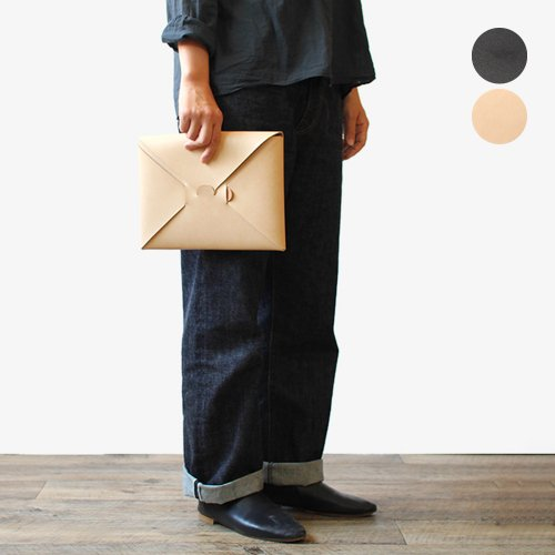 i ro se / BAG-SL05-S seamless clutch bag-S シームレスクラッチバッグ S - 全2色