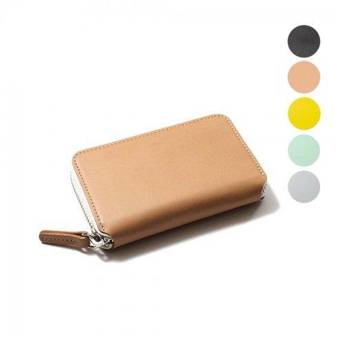 i ro se / ACC-PU06 pop-up mini wallet ラウンドファスナー付き レザー ポップアップ ミニウォレット - 全5色