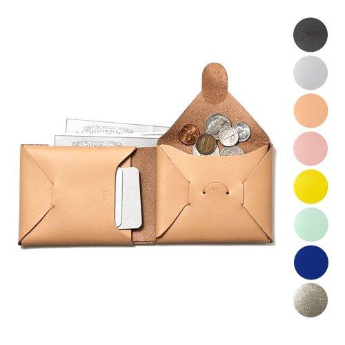 i ro se / ACC-SL03 seamless short wallet 二つ折り レザー シームレスショートウォレット - 全8色