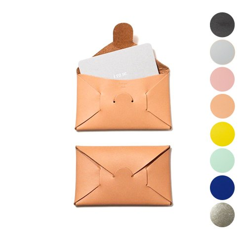 i ro se / ACC-SL01 seamless card case レザー シームレスカードケース - 全8色
