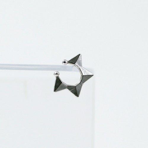 yum. (ヤム) / silver シルバー スター ミニ イヤーカフ / Ec-06a-Ag925