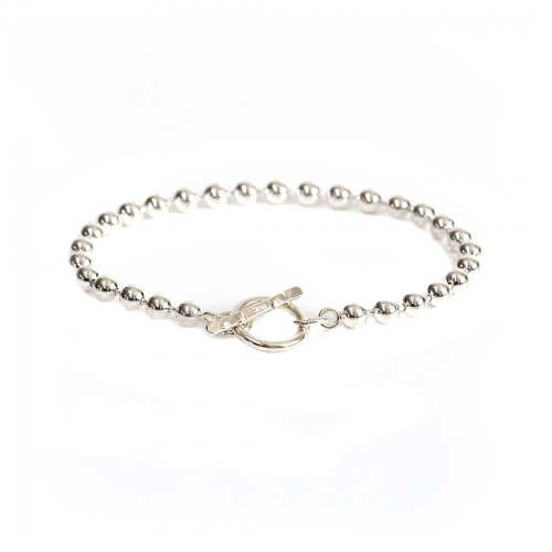 UNKNOWN. / silver925 U232 BALL CHAIN/2 ボールチェーン ブレスレット - シルバー<img class='new_mark_img2' src='https://img.shop-pro.jp/img/new/icons32.gif' style='border:none;display:inline;margin:0px;padding:0px;width:auto;' />