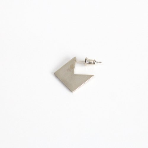 UNKNOWN. / silver925 U347 PACMAN2 ピアス - シルバー (片耳タイプ)