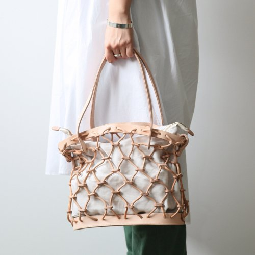 Ense(アンサ) kago tote mini / レザー かご トートバッグ ミニ - 全4色<img class='new_mark_img2' src='//img.shop-pro.jp/img/new/icons7.gif' style='border:none;display:inline;margin:0px;padding:0px;width:auto;' />