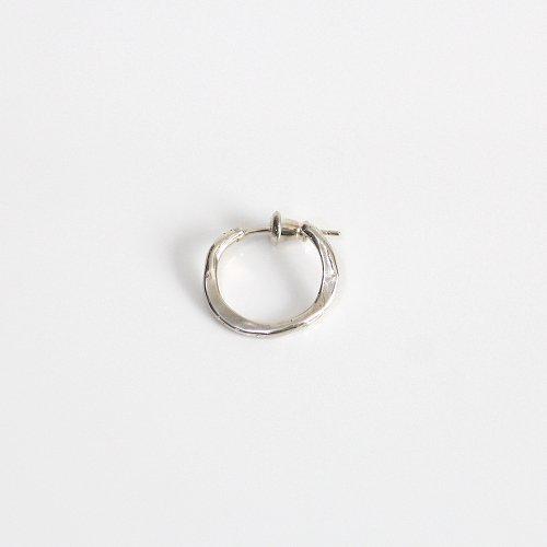 UNKNOWN. / silver925 U339 CRASH1 ピアス - シルバー (片耳タイプ)