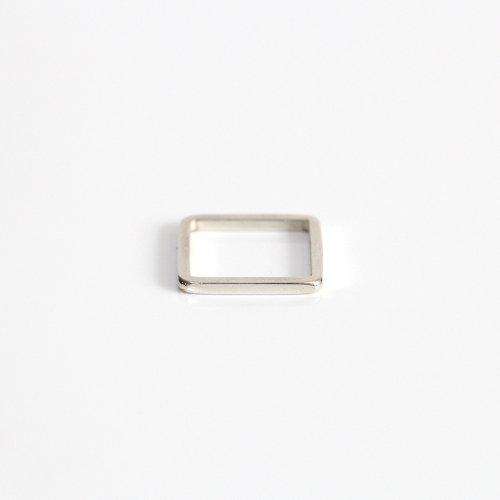 UNKNOWN. / silver925 U051 4CORNER リング - シルバー HIGH QUALITY LINE