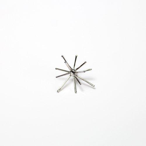 Lamie(ラミエ) / 00105P_spark_M_SV / silver シルバー Spark ピアスM (片耳タイプ)