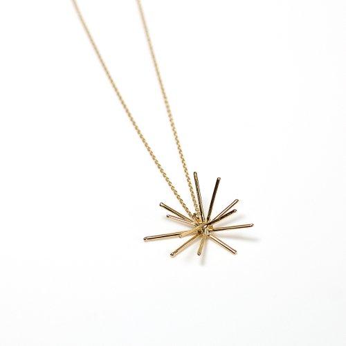 Lamie(ラミエ) / 00134_spark_M_ネックレス_GD / K18GP ゴールド Spark Gold ネックレス M