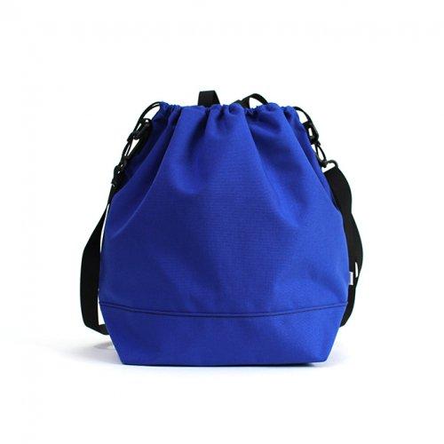 This is... (ディスイズ) / Cordura Drawstring Shoulder Bag コーデュラドローストリングショルダーバッグ - ロイヤルブルー
