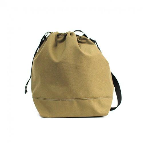 This is... (ディスイズ) / Cordura Drawstring Shoulder Bag コーデュラドローストリングショルダーバッグ - ベージュ
