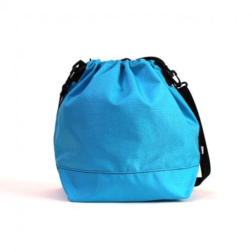 This is... (ディスイズ) / Cordura Drawstring Shoulder Bag コーデュラドローストリングショルダーバッグ - ターコイズ