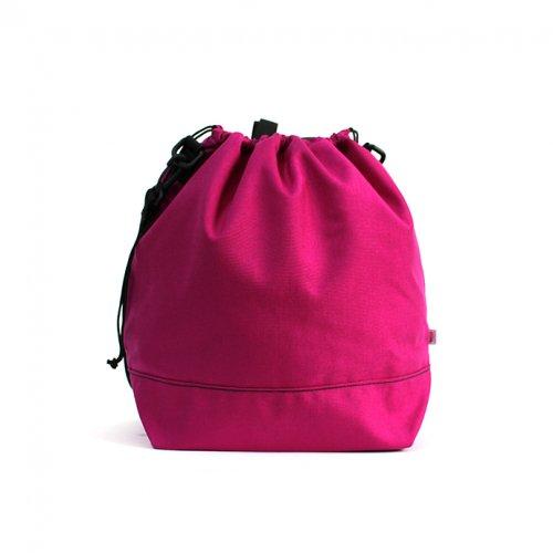 This is... (ディスイズ) / Cordura Drawstring Shoulder Bag コーデュラドローストリングショルダーバッグ - ローズピンク
