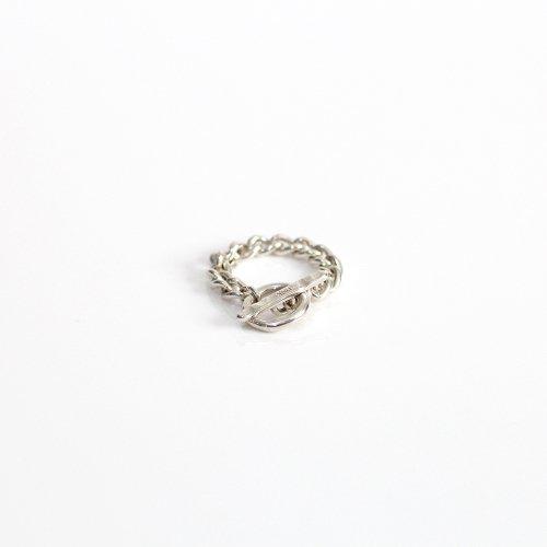 UNKNOWN. / silver925 U061 T-BAR リング - シルバー HIGH QUALITY LINE