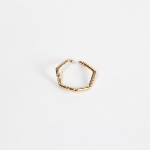 siki(シキ) / 七角形イヤーカフ ゴールド L / NNK-EC01L-SVGP