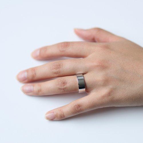 revie objects(レヴィオブジェクツ) / CO1-05 〈CORNER〉 0 wide ring ワイドリング - シルバー