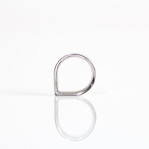 revie objects(レヴィオブジェクツ) / CO1-06 〈CORNER〉 1 wide ring ワイドリング - シルバー
