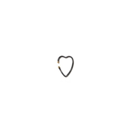 KIKKOU(キッコウ) KIKKOU / no.83 heart ハート イヤーカフ - ダークグレー<img class='new_mark_img2' src='//img.shop-pro.jp/img/new/icons7.gif' style='border:none;display:inline;margin:0px;padding:0px;width:auto;' />