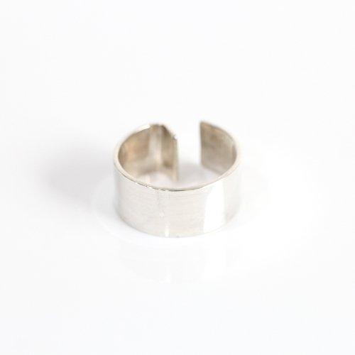 【廃番商品】hirondelle et pepin(イロンデールエペパン) / silver se-20ss-09 ワイド イヤーカフ L / シルバー