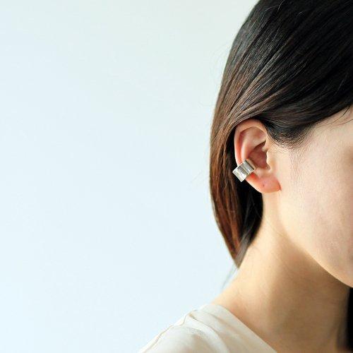 【廃番商品】hirondelle et pepin(イロンデールエペパン) / silver se-20ss-10 ワイド イヤーカフ M / シルバー