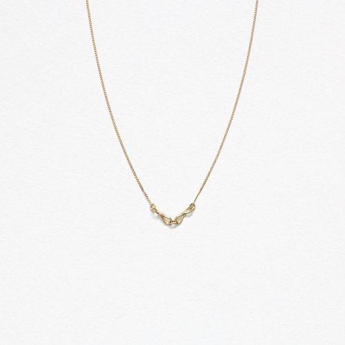 【廃番商品】hirondelle et pepin(イロンデールエペパン) / k18 hn-20ss-533 コネクト ミニチェーン ネックレス