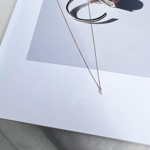 hirondelle et pepin(イロンデールエペパン) / k18 hn-20ss-535 ナンバー ネックレス / ゴールド