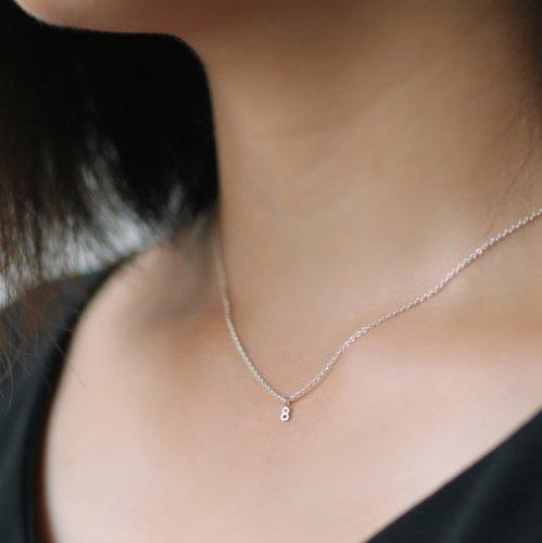 hirondelle et pepin(イロンデールエペパン) / silver sn-20ss-18 ナンバー ネックレス / シルバー