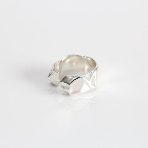 MIKU FUKAMITSU(ミク フカミツ) / かたまるリング / (シルバー  / silver925)