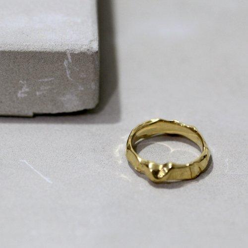 MIKU FUKAMITSU(ミク フカミツ) / とどけるリング / (ゴールド / k18pt)
