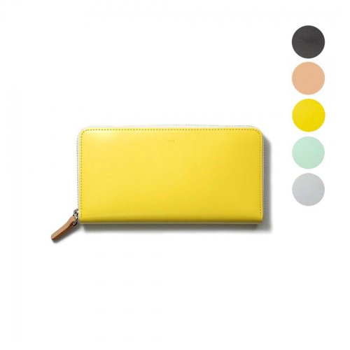 i ro se / ACC-PU03 pop-up long wallet  ラウンドファスナー付き レザー ポップアップ ロングウォレット - 全5色