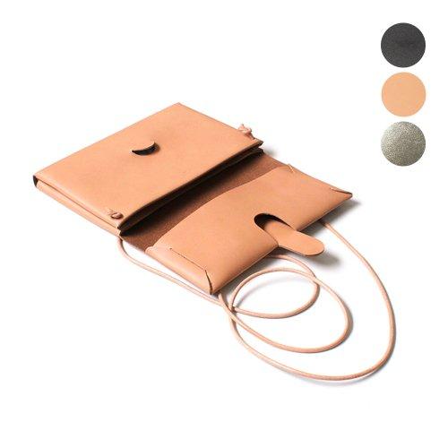 i ro se / BAG-SL08 seamless shoulder case-s レザー シームレス ショルダーケース - 全3色