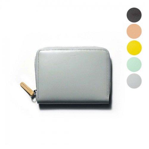 i ro se / ACC-PU01 pop-up medium wallet-2 ラウンドファスナー付き レザー ポップアップ ミディアムウォレット 2 - 全5色