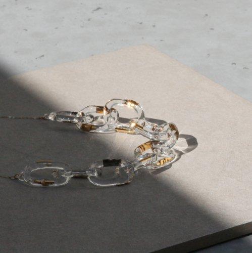 Luce macchia(ルーチェマッキア) / surge decollete necklace gold サージ デコルテ ネックレス - ゴールド