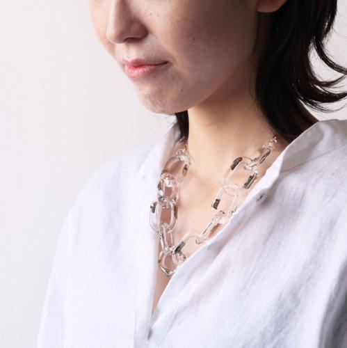 Luce macchia(ルーチェマッキア) / surge decollete necklace platinum サージ デコルテ ネックレス - プラチナ