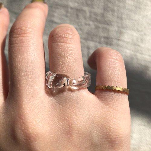 Luce macchia(ルーチェマッキア) / mobius  ring bubble メビウス リング - バブル