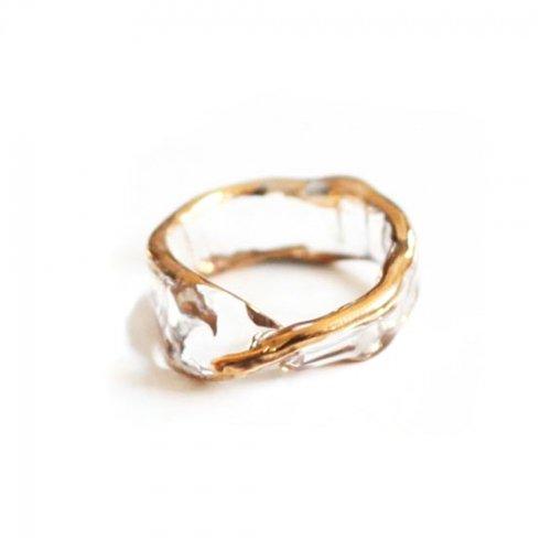 Luce macchia(ルーチェマッキア) / mobius  ring gold メビウス リング - ゴールド