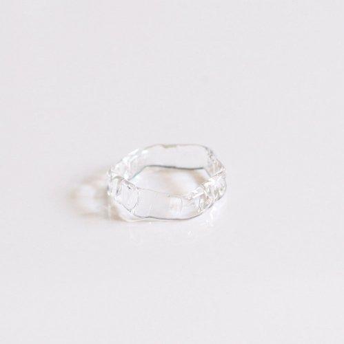 Luce macchia(ルーチェマッキア) / honeycom ring bubble ハニカム リング - バブル
