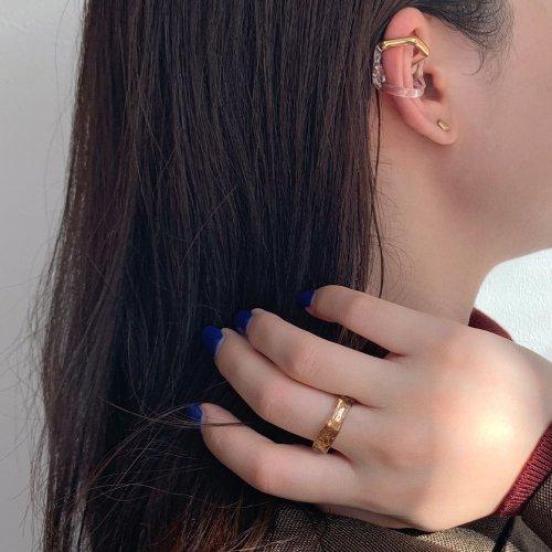 Luce macchia(ルーチェマッキア) / honeycom ring gold ハニカム リング - ゴールド