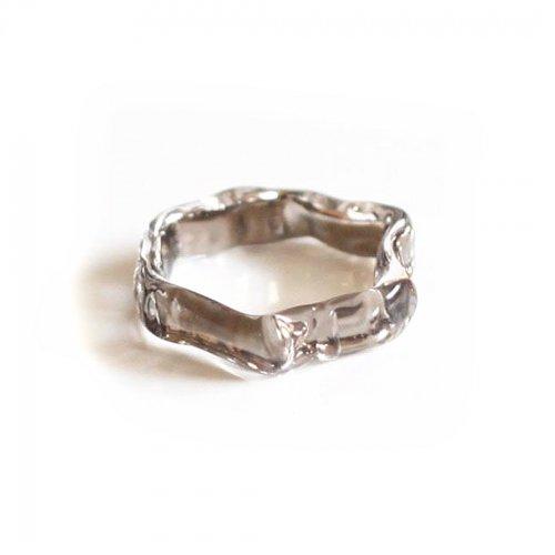 Luce macchia(ルーチェマッキア) / honeycom ring platinum ハニカム リング - プラチナ