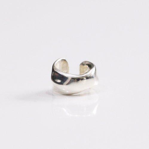 UNKNOWN. / silver925 U423 MELT1 イヤーカフ - シルバー (片耳タイプ)