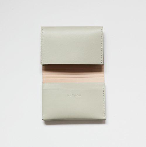 【完売】MARROW(マロウ) / CARD CASE レザー カードケース - ウィローグリーン