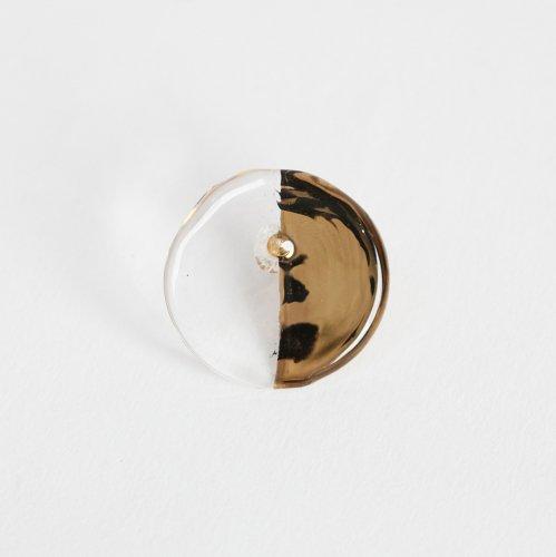 Luce macchia(ルーチェマッキア) / circle right pierce gold サークル ライト ピアス - ゴールド (片耳タイプ)