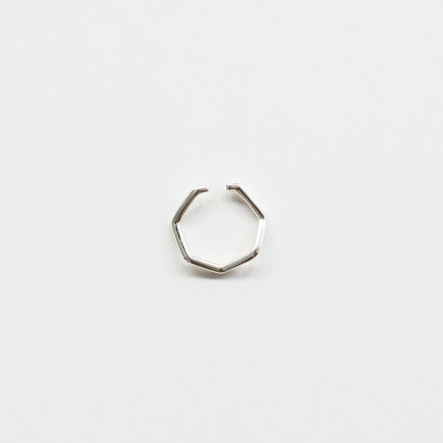 siki(シキ) / silver 七角形イヤーカフ シルバー M / NNK-EC01M-SV