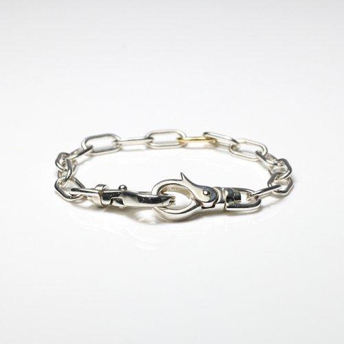 hirondelle et pepin(イロンデールエペパン) / silver k18  sv-20fw-29 wallet chain バングル