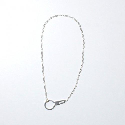 hirondelle et pepin(イロンデールエペパン) / silver k18 sn-20fw-22 key ring  ネックレス