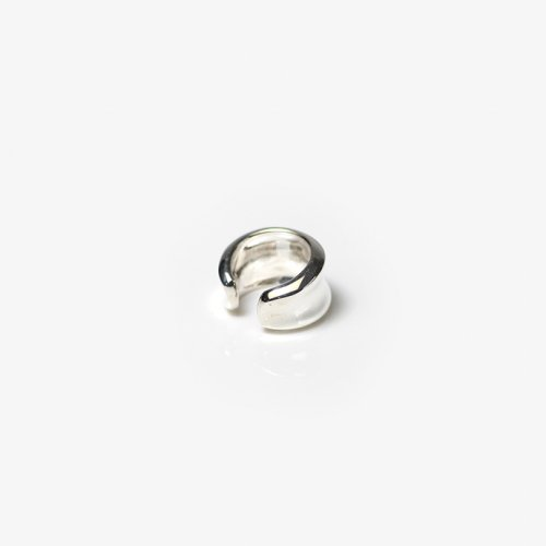 CALLMOON(コールムーン) / ESS017 Arc earcuff イヤーカフ - シルバー (片耳タイプ)